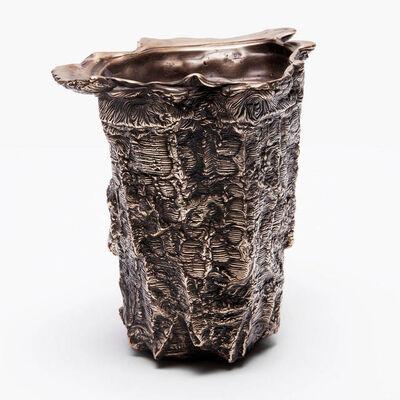 Steven Haulenbeek, 'Ice-Cast Bronze Vessel #18'