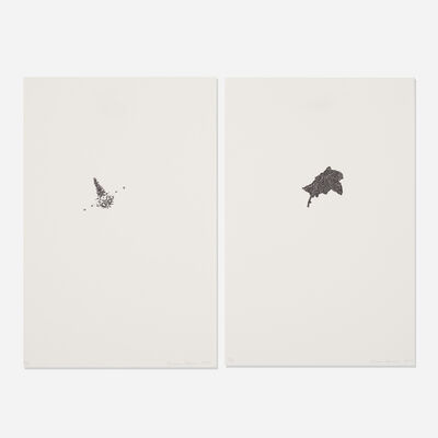 Bruce Conner, '#111 and #112 (two works)', 1970