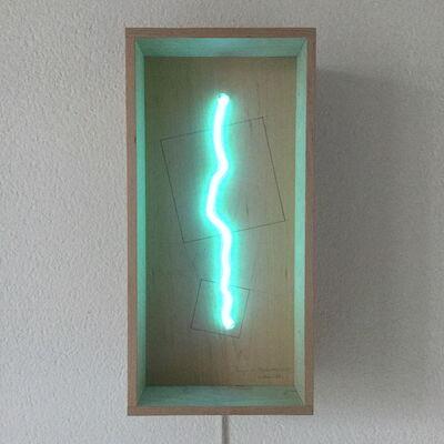 Jan Van Munster, 'brainwave in box (homage to malewich)', 2012