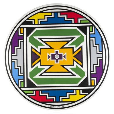 Esther Mahlangu, 'Ndebele Abstract ', 2019