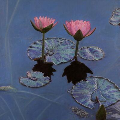 Jeffrey Vaughn, 'Pink Lilies', 2020