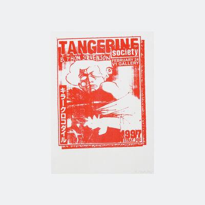 B. Thom Stevenson, 'Tangerine Society (red)', 2017
