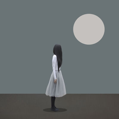 Patty Maher, 'Silvery Moon', 2019