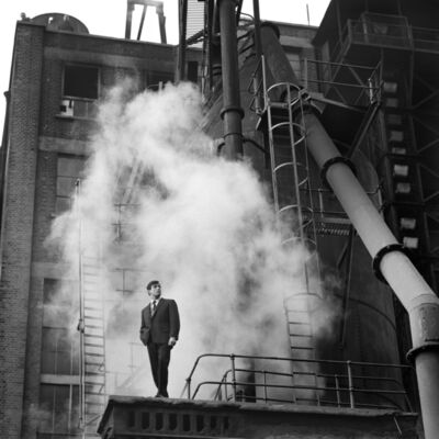 Terence Donovan, ''Thermodynamic', Fashion Shoot for 'Man About Town Magazine', Grove Road Power Station, 31st October 1960', 1960