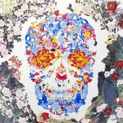 Jacky Tsai, 'Chinese Floral Skull', 2015