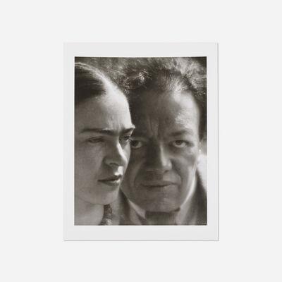 Martin Munkacsi, 'Frida Kahlo and Diego Rivera', 1934