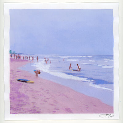 Isca Greenfield-Sanders, 'No Name (Beach)', 2018