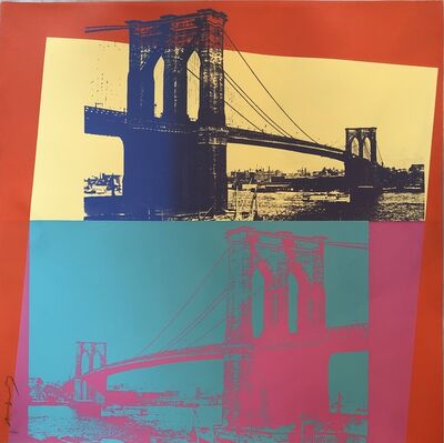Andy Warhol, 'Brooklyn Bridge F&S II.290', 1983