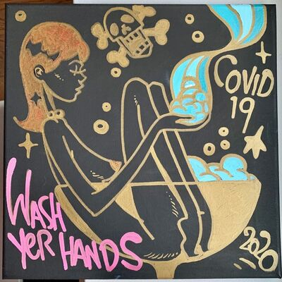 matt siren, 'Wash Yer Hands', 2020