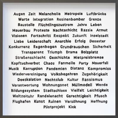 Käthe Kruse, '75 Years — 75 Words', 2020