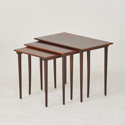 Verner Panton & Westnofa, 'Three nesting tables', 1970s
