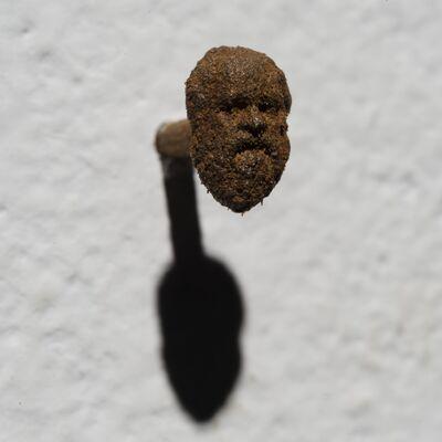 Hilario Isola, 'Chiodi Filosofi - Socrate', 2016