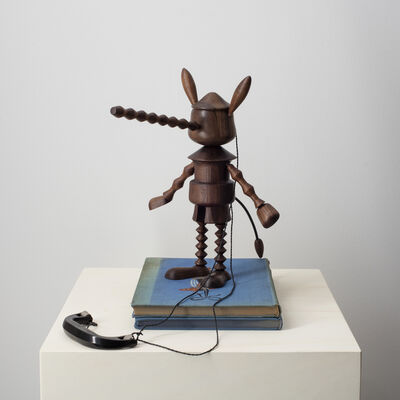 Edgar Orlaineta, 'Under wood (Pinocchio)', 2018