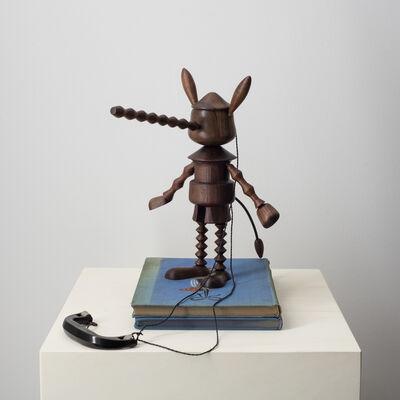 Edgar Orlaineta, 'Under wood (Pinocchio)', 2018