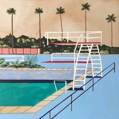 Charlotte Keates, 'Diving In ', 2017