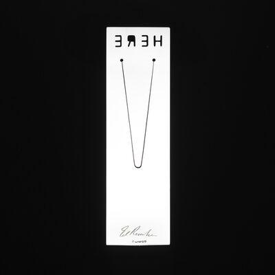 Ed Ruscha, 'Here bookmark', 2008