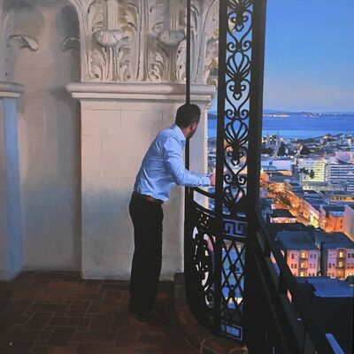 Iain Faulkner, 'San Francisco, first light', 2018