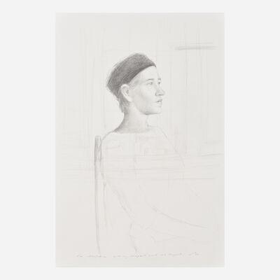 Bo Bartlett, 'Untitled (Melonie in Black Hat)'
