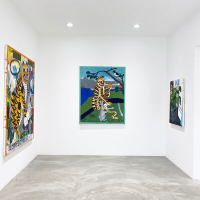 New Paintings, installation view