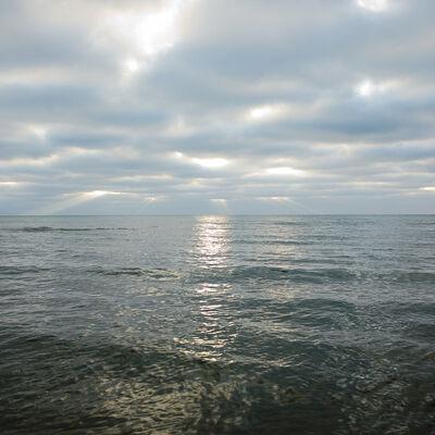 Lucinda Devlin, 'Lake Huron, 11.26.2010, 8:28 am', 2010