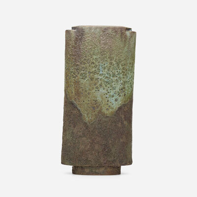 Otto Natzler, 'ikebana vase', 1982