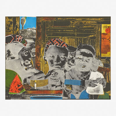 Romare Bearden, 'Mysteries from Prevalence of Ritual', 1964