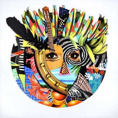 Peter D. Gerakaris, 'Carnivale Mask Remix', 2017