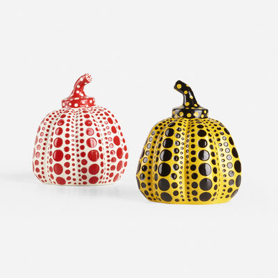 Yayoi Kusama, 'Pumpkins, set of two', 2015