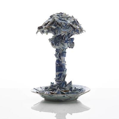 Bouke de Vries, 'Porcelain Mushroom Cloud', 2020