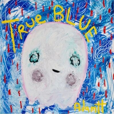 Adam Handler, 'True Blue Ghost', 2021