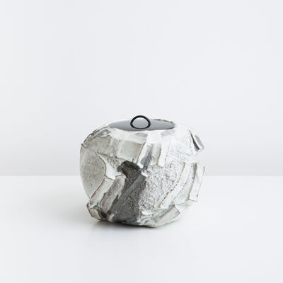Shozo Michikawa, 'Kohiki Sculptural Form Mizusashi', 2015