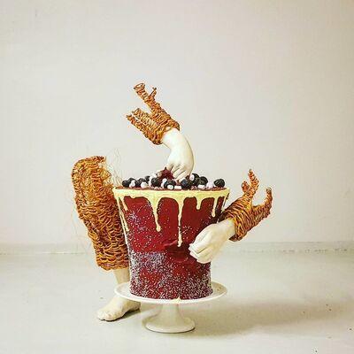 Lene Kilde, 'Let's eat cake', 2020