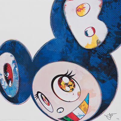 Takashi Murakami, 'And then - Blue Superflat Method (Blue) ', 2013