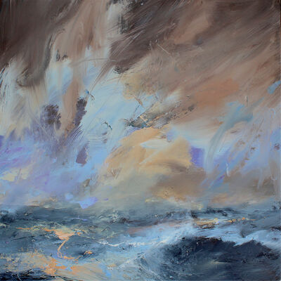 Janette Kerr, 'Wind increasing - early evening, Stenness', 2019