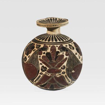 Unknown Greek, 'Ancient Corinthian Terracotta Aryballos', Corinthian, ca. 600 , 575 B.C.