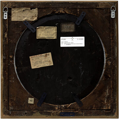 Philippe Gronon, 'Verso n°33, Dessinateur dans les ruines d'un temple à Paestrum, par Robert Hubert, collection du musée des Beaux-arts d'Amiens', 2009