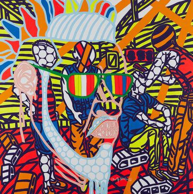 Boris Nzebo, 'Le coiffeur des rues', 2019