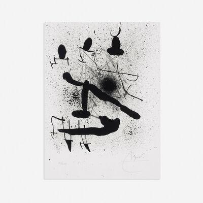 Joan Miró, 'Liberte des Libertes (from Liberte des Libertes portfolio)', 1971