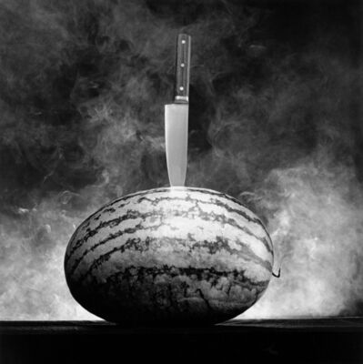 Robert Mapplethorpe, 'Watermelon with Knife', 1985