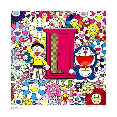 Takashi Murakami, 'DORAEMON: WE CAME TO THE FIELD OF FLOWERS THROUGH ANYWHERE DOOR (DOKODEMO DOOR) ', 2019