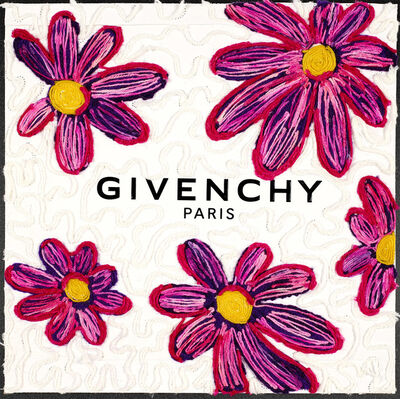 Stephen Wilson, 'Givenchy Blooms (Magenta)', 2020