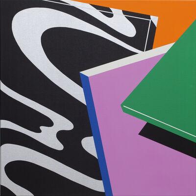 Moritz Green, 'Chrom Quadrat II', 2020