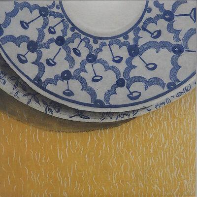 Monica Chivas, 'Blue & White 1', 2017