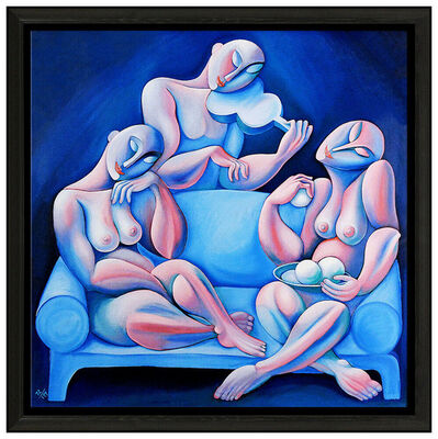 Yuri Yuroz, 'The Light Blue Couch', 1990