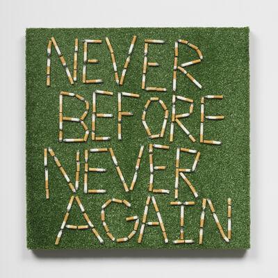 Joseph Tisiga, 'Never before never again', 2020