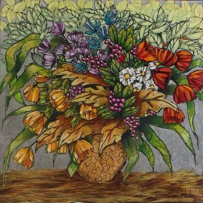 Jean Jacques Hudon, 'Symphonie pour Fleurs IV'