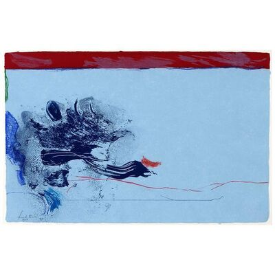 Helen Frankenthaler, 'In The Wings', 1987