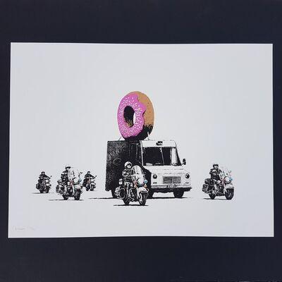 Banksy, 'Donuts Strawberry', 2009