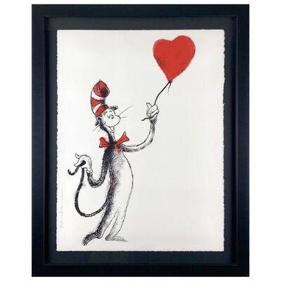 Mr. Brainwash, 'Cat and the Heart (Balloon)', 1990-2020