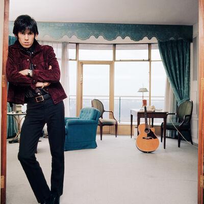 Bent Rej, 'Keith Richards at Home I, London, 1965', 1965